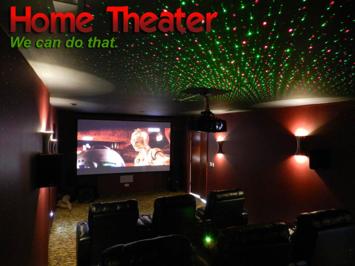 Amazing Dedicated Home Theater Charlottesville
