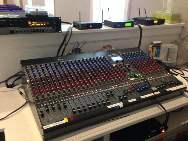 City Refuge Church Mixing Board from AVS