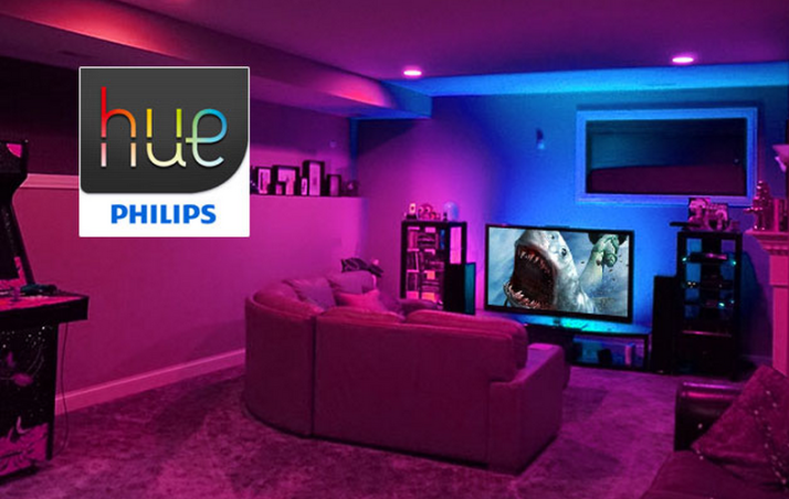 Home Theater Lighting Review-Phillips Hue