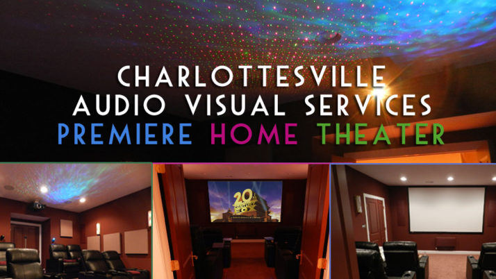 Home Theater Charlottesville, VA Virginia