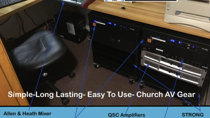 Church Audio Visual Lynchburg VA Virginia