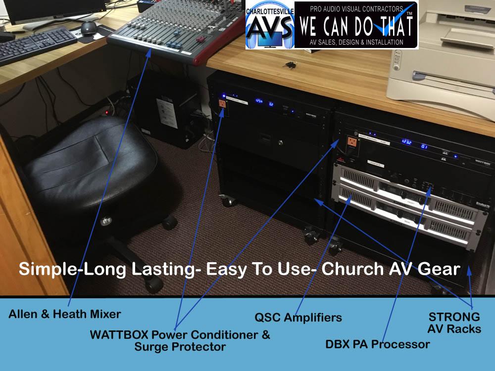 virginia church audio visual