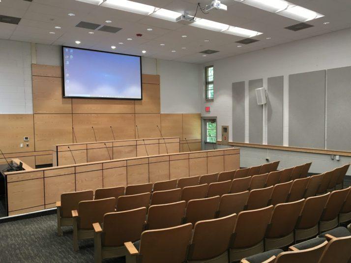 New Audio Visual -Madison County Board Facility Room Madison VA, Virginia 2021